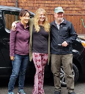Jiyeon, Leanna and Rick.